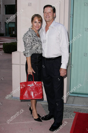 Stock Image of Crystal Chappell and Michael Sabatino