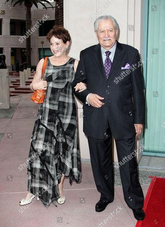 Louise Sorel and John Aniston