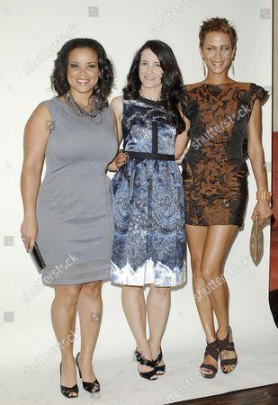 Kimberly Locke, Kristin Davis and Nicole Ari Parker