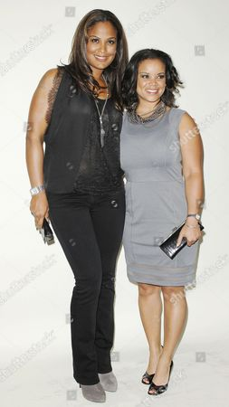 Laila Ali and Kimberly Locke