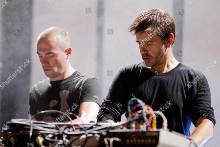 DJ Scan X and Laurent Garnier