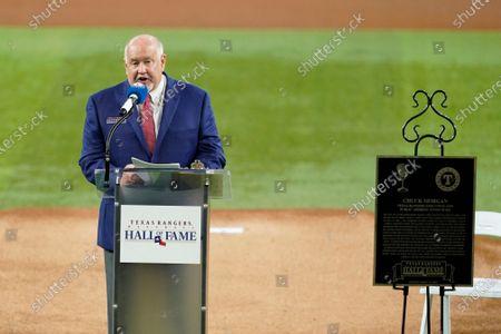 Editorial picture of Athletics Rangers Baseball, Arlington, United States - 14 Aug 2021