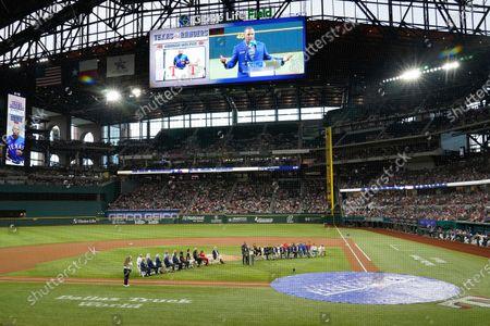 Editorial photo of Athletics Rangers Baseball, Arlington, United States - 14 Aug 2021