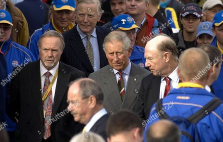Sir Terry Matthews and Prince Charles