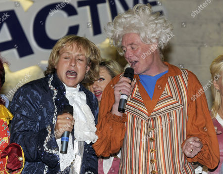 Stock Photo of Lee Otway with Bruce Jones as Doc Hardup