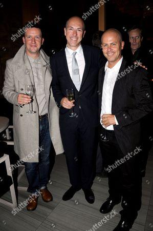 Ben Reardon, Dylan Jones and Italo Zucchelli