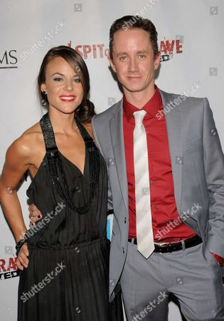 Sarah Butler and Chad Lindberg