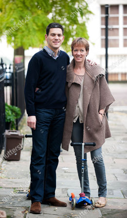 Editorial photo of David Miliband and wife Louise leaving their Primrose Hill home, London, Britain - 30 Sep 2010
