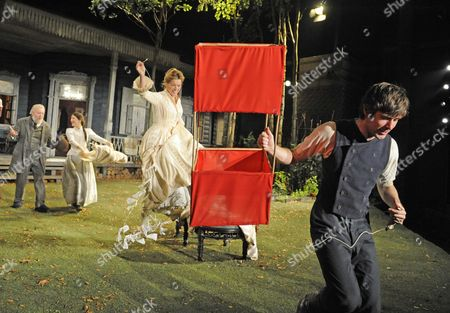 Editorial image of 'A Month in the Country' play at the Chichester Festival Theatre, Britain - 28 Sep 2010