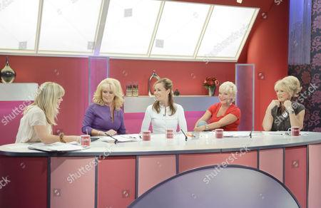 Kate Thornton, Beverley Callard, Tara Palmer Tomkinson, Denise Welch and Sherrie Hewson