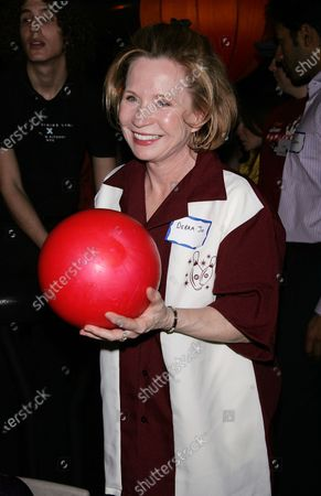 Debra Jo Rupp takes part in the Second Stage Theatre's 22nd Annual All-Star Bowling Classic at Lucky Strike Lanes and Lounge in New York on February 2, 2009.