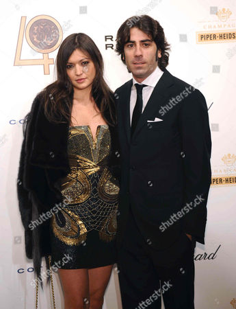 Stock Photo of Rachele Cavalli and Jacopo