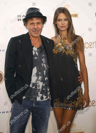 Stock Picture of Renzo Rossi and Bianca Balti