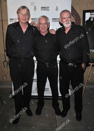 The Quarrymen (John Lennon's original band) L_R Len Garry, Colin Hanton and Rod Davis