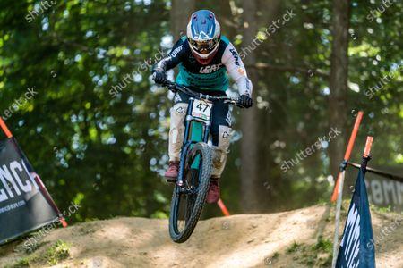 Editorial photo of MTB - Mountain Bike 2021 Mountain Bike World Cup, Maribor, Slovenia - 15 Aug 2021