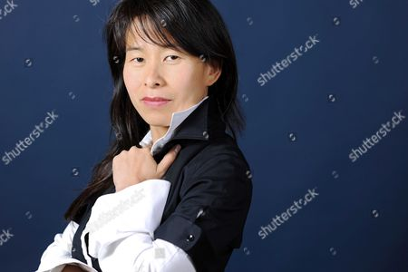 Stock Picture of Kim Thuy, Canadian writer