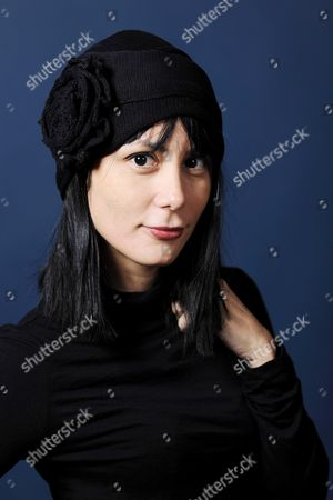 Stock Photo of Wendy Guerra, Cuban writer, poet and director.