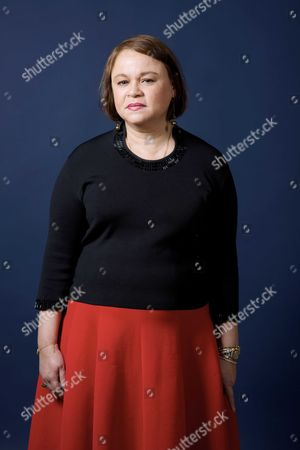 Stock Picture of Zoe Valdes, Cuban writer and poet.