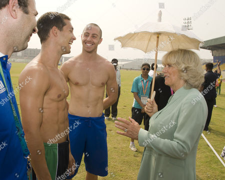 Editorial picture of Prince Charles and Camilla, Duchess of Cornwall visit New Delhi, India - 03 Oct 2010