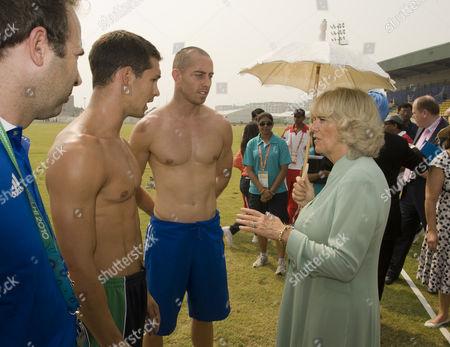 Editorial photo of Prince Charles and Camilla, Duchess of Cornwall visit New Delhi, India - 03 Oct 2010