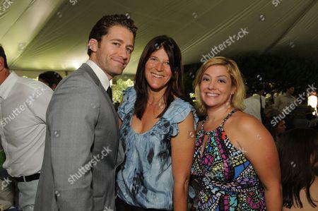 Matthew Morrison, Missy Halperin and Genna Rosenberg