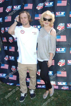 Louie Vito and Kelly Osbourne