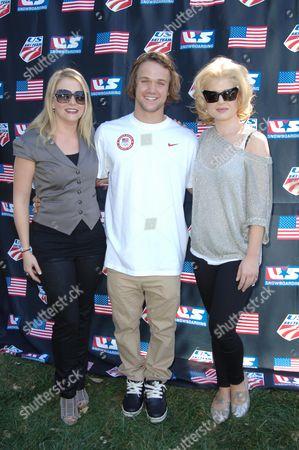 Kelly Osbourne, Louie Vito and Melissa Joan Hart