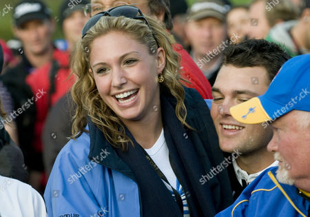 Alison Micheletti with boyfriend Martin Kaymer
