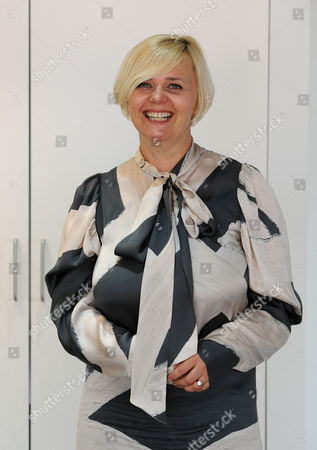 Editorial photo of Michelle Fenney, Chief Executive of St Tropez at her PR's office in Holborn, London, Britain - 13 Aug 2010