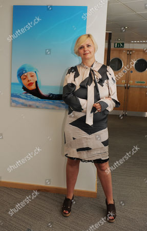 Editorial picture of Michelle Fenney, Chief Executive of St Tropez at her PR's office in Holborn, London, Britain - 13 Aug 2010