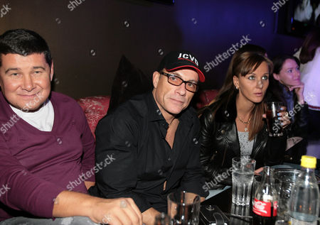 Editorial photo of Jean-Claude Van Damme out and about, Kiev, Ukraine - 03 Oct 2010