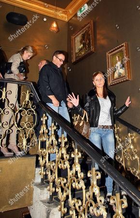 Stock Image of Jean-Claude Van Damme and Alena Kaverina