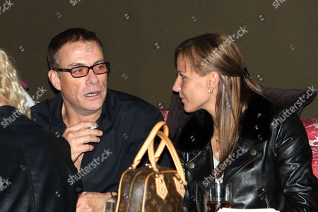Editorial image of Jean-Claude Van Damme out and about, Kiev, Ukraine - 03 Oct 2010
