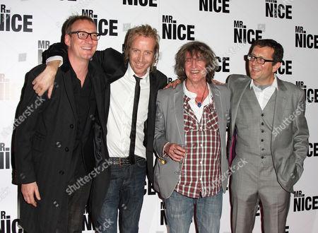 David Thewlis, Rhys Ifans, Howard Marks and Bernard Rose