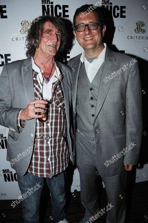 Howard Marks and director, Bernard Rose