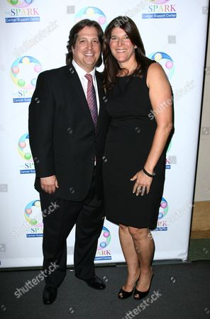 Stock Picture of Missy Halperin and husband John
