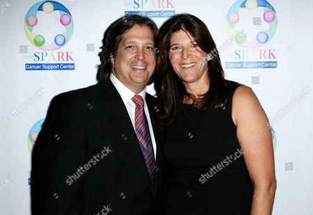 Stock Photo of Missy Halperin and husband John
