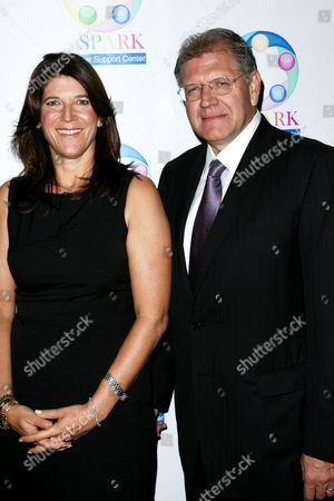 Missy Halperin and Robert Zemeckis