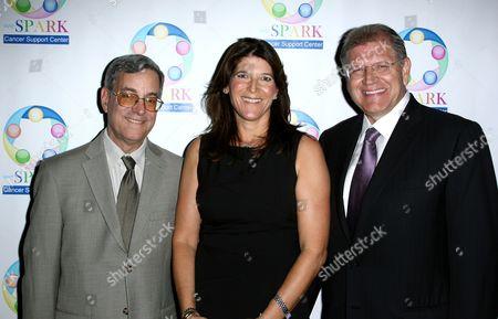 Stock Image of Bob Gale, Missy Halperin and Robert Zemeckis