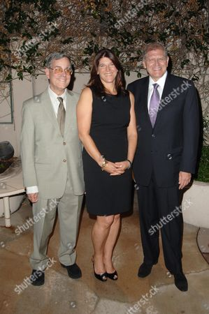 Stock Picture of Bob Gale, Missy Halperin and Robert Zemeckis