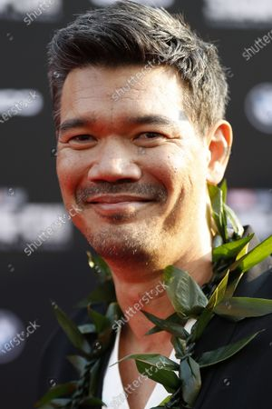 Destin Daniel Cretton poses on the red carpet prior to the premiere of Marvel's 'Shang-Chi and the Legend of the Ten Rings' at El Capitan Theatre in Hollywood, California, USA, 16 August 2021. The movie is set to be released on 03 September 2021.