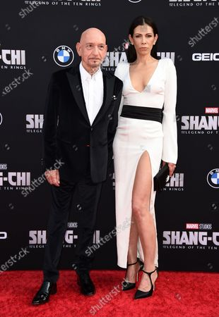 """Editorial picture of LA premiere of """"Shang-Chi and the Legend of the Ten Rings"""", Los Angeles, United States - 16 Aug 2021"""