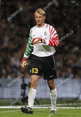 Juventus goalkeeper Alex Rodrigo Dias da Costa Manninger