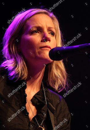 Editorial photo of Katie Herzig in concert at Rams Head Live, Baltimore, America - 04 Oct 2010