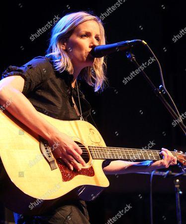 Editorial image of Katie Herzig in concert at Rams Head Live, Baltimore, America - 04 Oct 2010