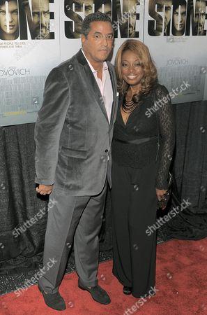 Editorial image of 'Stone' film premiere, New York, America - 05 Oct 2010