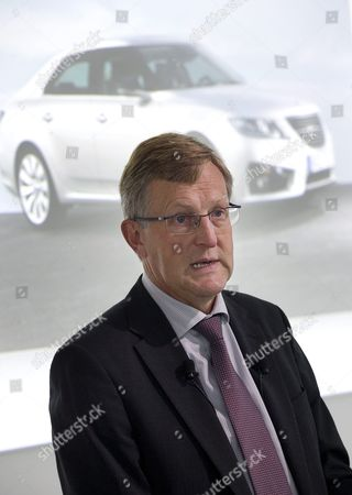 Editorial photo of Saab - BMW press conference, Trollhattan, Sweden - 29 Sep 2010