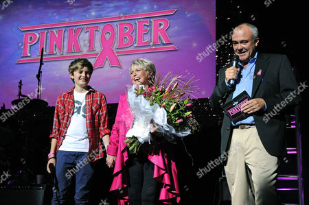 Stock Picture of Gabriel Keating, Gloria Hunniford and Hamish Dodds