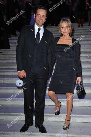 Marina Berlusconi and husband