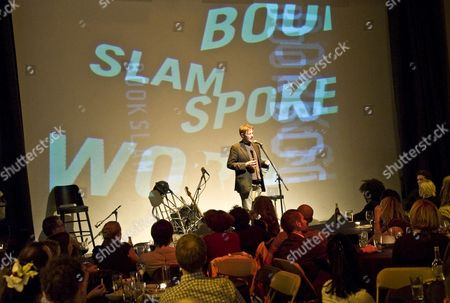 Editorial image of Bookslam event at The Tabernacle, London, Britain - 30 Sep 2010